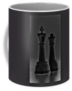 King And Queen In Black And White Coffee Mug