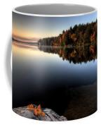 Lake In Autumn Sunrise Reflection Coffee Mug