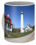 Lighthouse - Presque Isle Michigan Coffee Mug