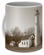 Lighthouse - Sturgeon Point Michigan Coffee Mug