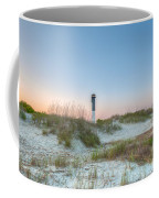 Sullivan's Island Dunes To Lighthouse View Coffee Mug