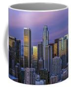 Los Angeles Skyline Sunset Coffee Mug