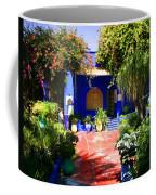 Majorelle Garden Marrakesh Morocco Coffee Mug