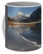 Mt. Rundle And Vermillion Lake Coffee Mug