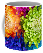 Multicolored Chrysanthemums  Coffee Mug