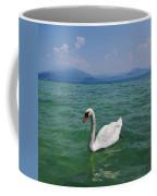 Mute Swan. Sirmione. Lago Di Garda Coffee Mug