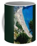 Myrtos Beach In Kefallonia Island Coffee Mug