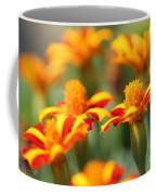 Novelty French Marigold Named Mr. Majestic Coffee Mug