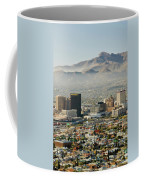 Panoramic View Of Skyline And Downtown Coffee Mug