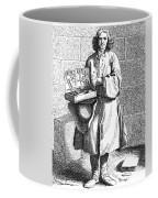 Paris Street Vendor, C1740 Coffee Mug