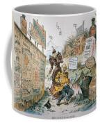 Patent Medicine Cartoon Coffee Mug