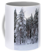 Pine Forest Winter Coffee Mug