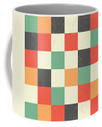 Pixel Art Square Coffee Mug