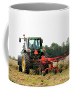 Raking Hay Coffee Mug