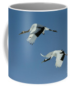 Red-crowned Cranes Coffee Mug