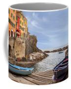Riomaggiore Coffee Mug by Joana Kruse