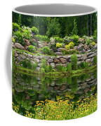 Rocks And Plants In Rock Garden Coffee Mug
