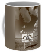 Route 66 - Midpoint Sign Coffee Mug