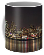 Seattle Skyline On Lake Union Coffee Mug