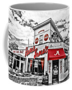 Shadow Of The Stadium - Hdr Selective Color Coffee Mug