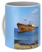 Shipwreck On Lanzarote Coffee Mug