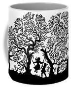 Silhouette 19th Century Coffee Mug