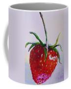 Single Strawberry Coffee Mug