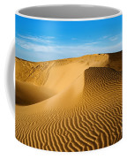 Sunrise At Oceano Sand Dunes Coffee Mug