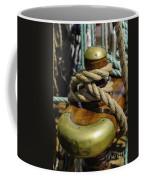 Tall Ship Rigging Vertical Coffee Mug