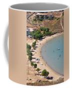 The Famous Psili Ammos Beach Coffee Mug