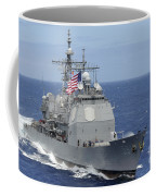The Guided-missile Cruiser Uss Coffee Mug