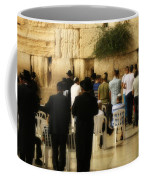 Praying At The Western Wall Coffee Mug