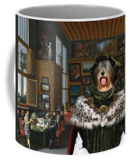 Tibetan Terrier Art Canvas Print Coffee Mug