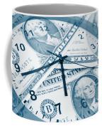 Time Is Money Concept Coffee Mug