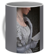 Victorian Woman Reading A Letter Coffee Mug