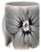 Viola Named Sorbet Blue Heaven Jump-up Coffee Mug