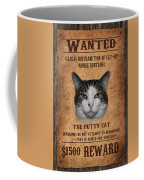 Wanted Coffee Mug