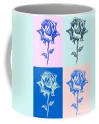 4 Warhol Roses By Punt Coffee Mug