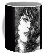 Woman Sketch Coffee Mug