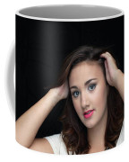 Woman Smiling Coffee Mug