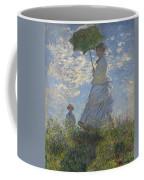 Woman With A Parasol Coffee Mug