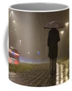 Woman With An Umbrella Coffee Mug