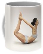 Yoga Bow Pose Coffee Mug