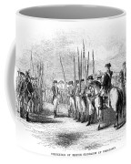 Yorktown: Surrender, 1781 Coffee Mug
