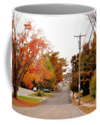 Fall Foliage In New England Coffee Mug