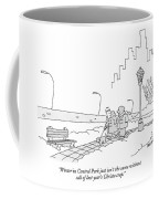 Winter In Central Park Just Isn't The Same Coffee Mug