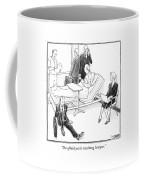 I'm Afraid You're Retaining Lawyers Coffee Mug