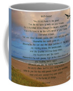 40- Wild Geese Mary Oliver Coffee Mug