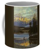 4028a, Evening Skyline, Montreal, Qc Coffee Mug