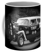 409 Cu Inches Black And White Coffee Mug